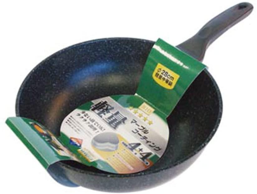 オリエント マーブルコーティング中華鍋 軽量タイプ 28cmの商品画像
