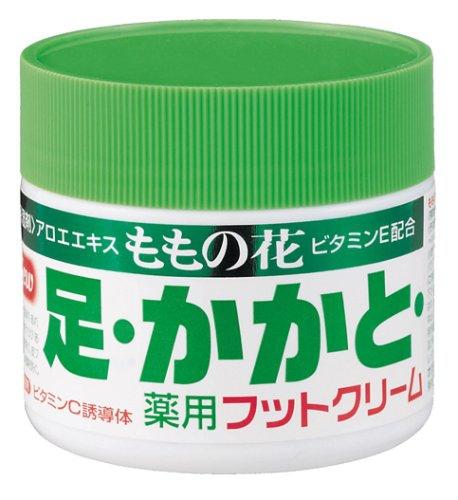 ももの花(モモノハナ) 薬用フットクリームの商品画像