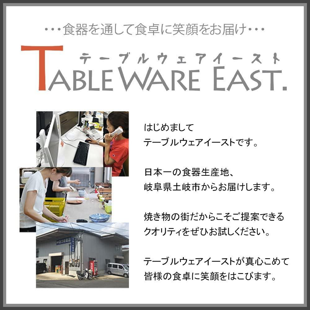 TABLE WARE EAST.(テーブルウェアイースト) 粉引 しのぎ刷毛目 6.3寸ラーメンどんぶり  2個セットの商品画像7