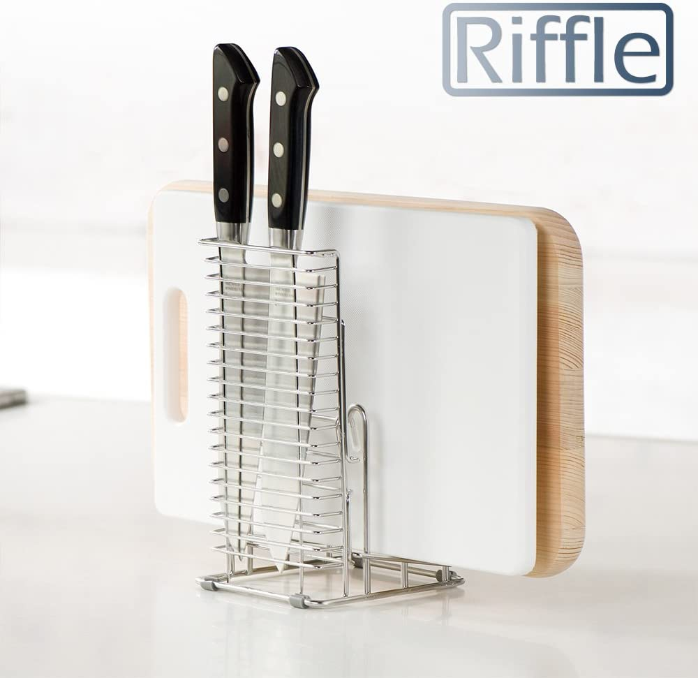 LEC(レック) Riffle 2WAY 包丁 ・ まな板 スタンド KK-090の商品画像6