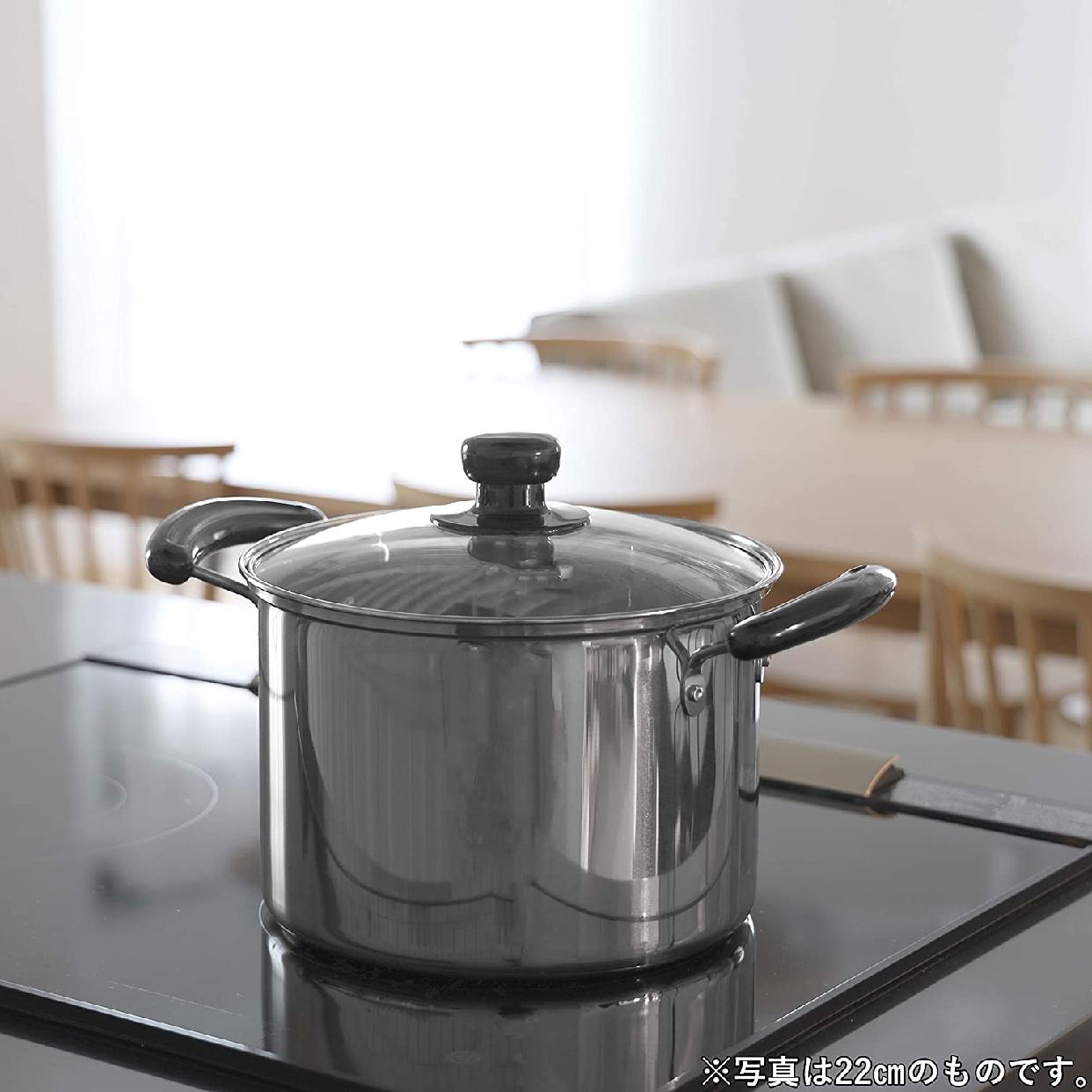 パール金属(PEARL) NEWだんらん 兼用鍋 ガラス鍋蓋付 H-5873の商品画像4
