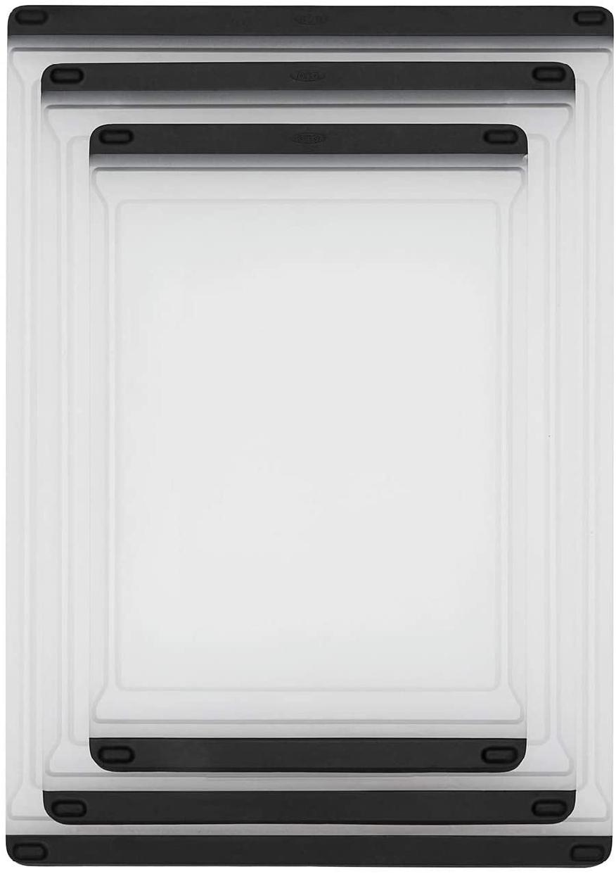 OXO(オクソー)カッティングボードM ホワイト&ブラック 11272700の商品画像9