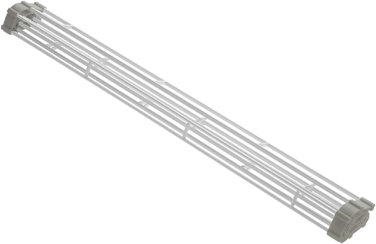 山崎実業(Yamazaki) 折り畳み水切りラック プレート L 7846 ホワイトの商品画像2