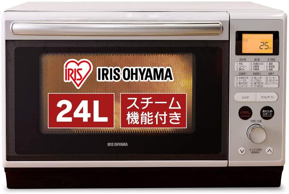 IRIS OHYAMA(アイリスオーヤマ) スチームオーブンレンジ 24L MO-F2402の商品画像