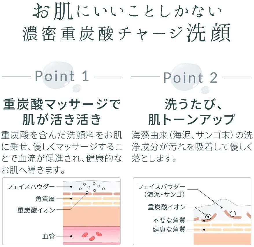 BARTH(バース) 中性重炭酸洗顔パウダーの商品画像4