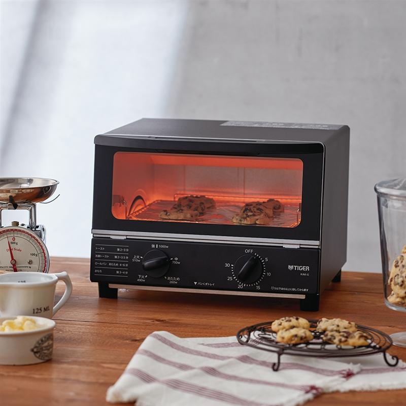 TIGER(タイガー)オーブントースター <やきたて> KAK-G100Kの商品画像2