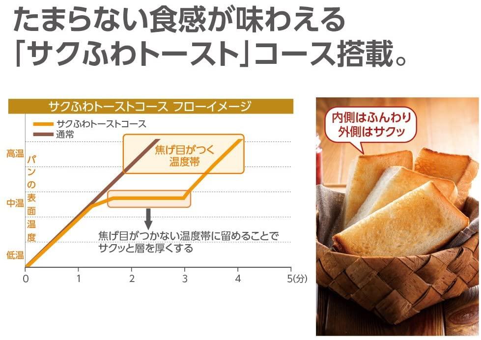 象印(ZOJIRUSHI) オーブントースターこんがり倶楽部ET-GM30の商品画像5