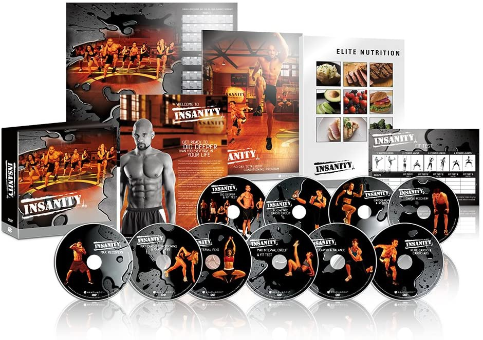 Beachbody(ビーチボディ) Insanity: The Ultimate Cardio Workout and Fitness DVD Programme.の商品画像
