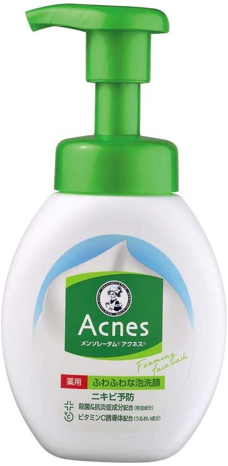 MENTHOLATUM acnes(メンソレータムアクネス)薬用ふわふわな泡洗顔