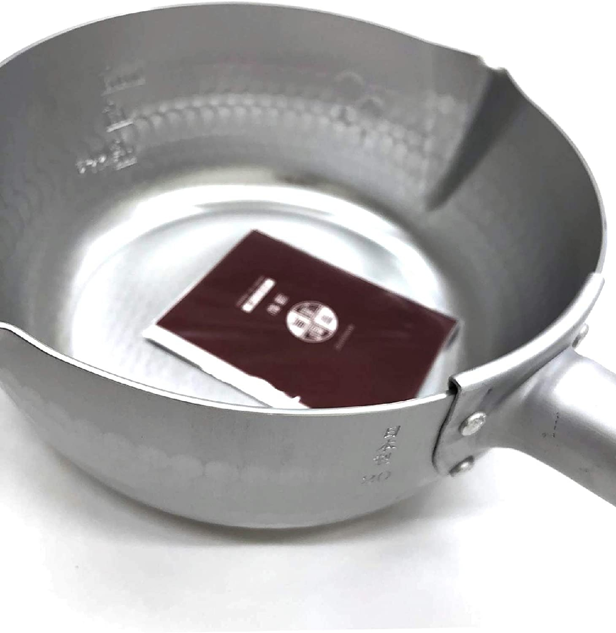 京都活具 ゆきひら鍋 20cm IH対応 シルバーの商品画像3