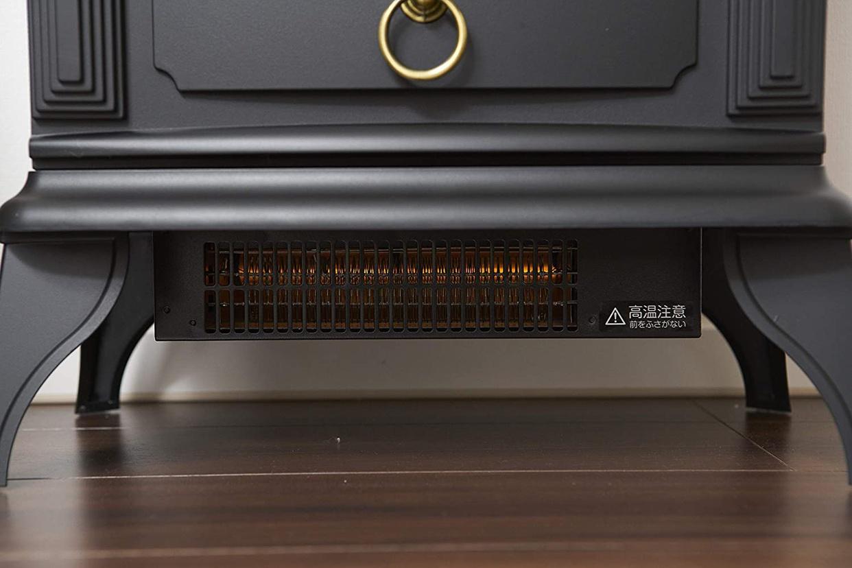 山善(YAMAZEN) 暖炉型ヒーター YDH-SK10の商品画像4