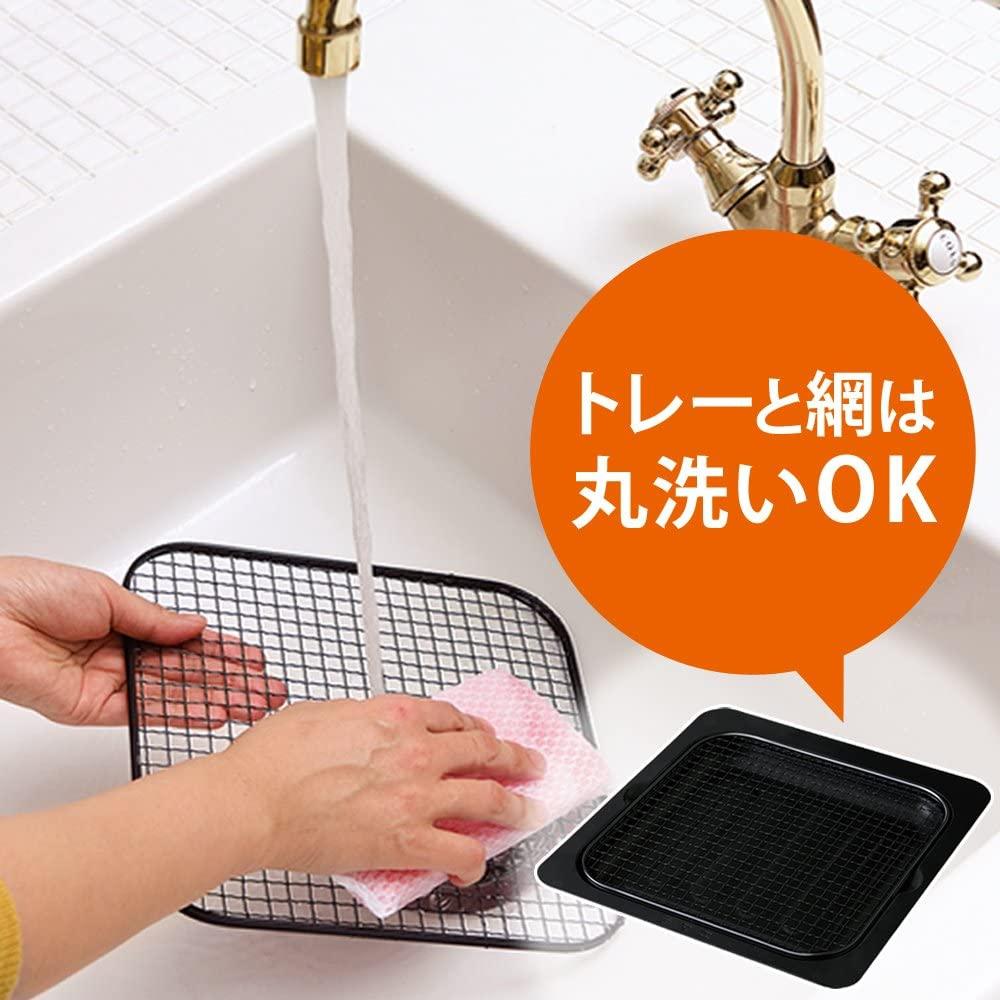 IRIS OHYAMA(アイリスオーヤマ) ノンフライ熱風オーブン FVX-D3B-S シルバーの商品画像2