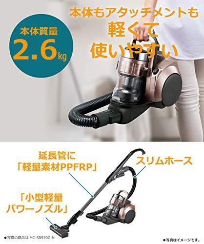 Panasonic(パナソニック) サイクロン掃除機  MC-SR37の商品画像2