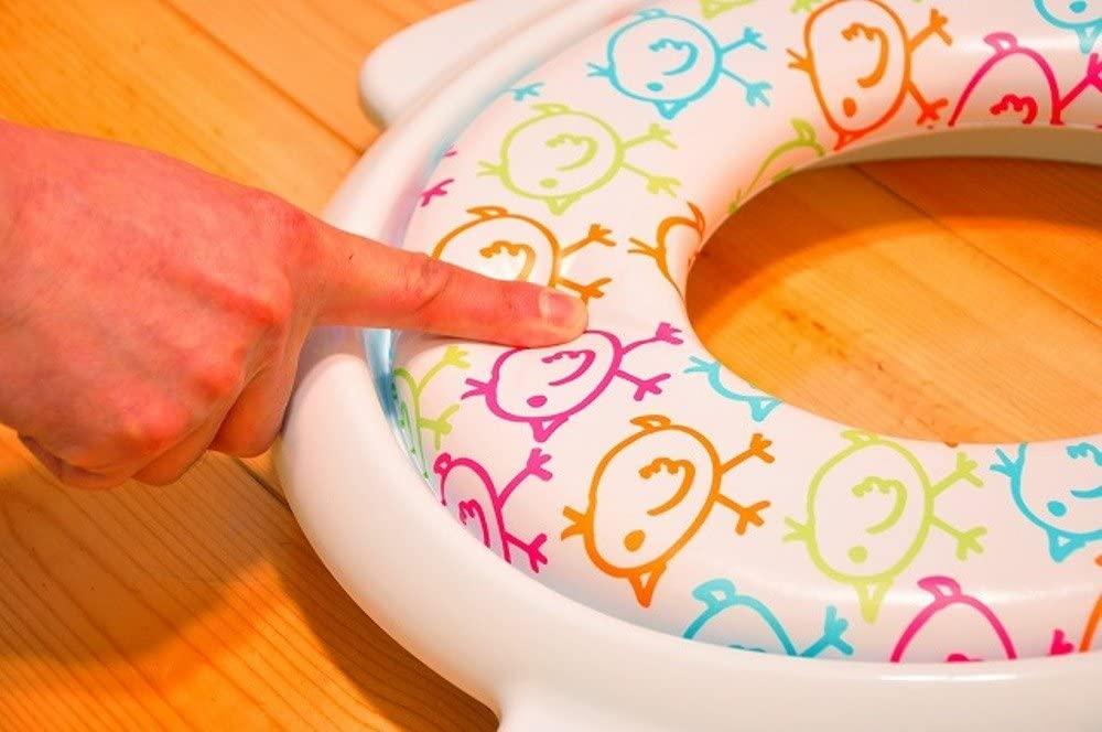 Little Princess(リトルプリンセス) かえるのふかふか ステップ式 トイレトレーナーの商品画像8