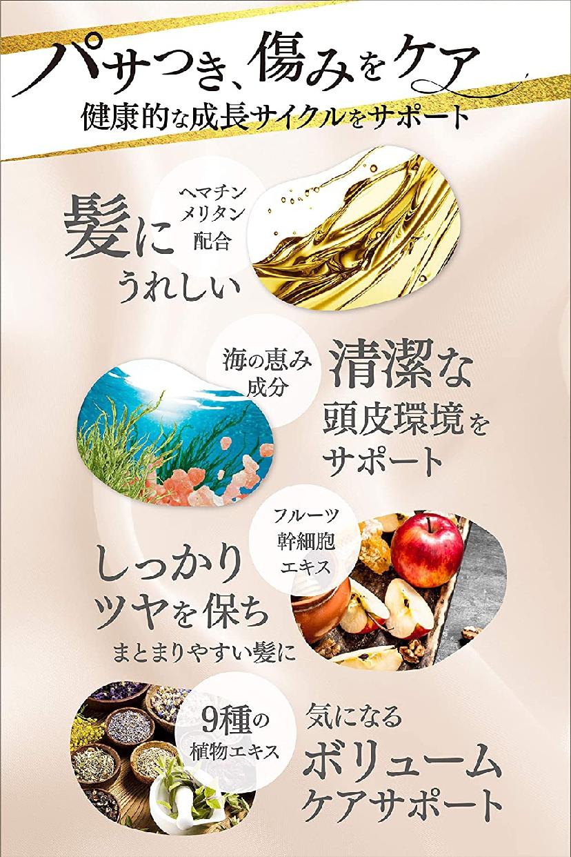 KAMIKA(カミカ)オールインワン黒髪クリームシャンプーの商品画像14