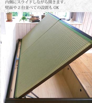 家具レンジャー 跳ね上げ式畳ベッド バネ式の商品画像7