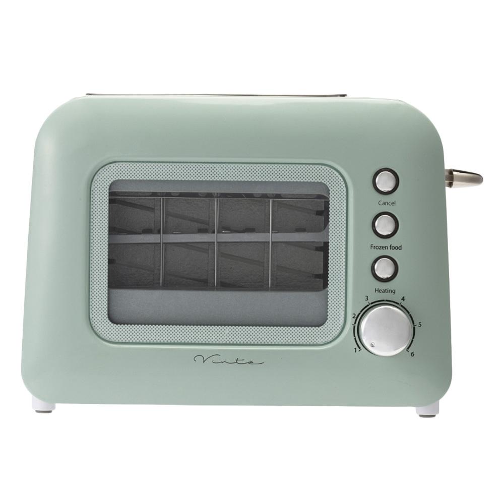 cainz home(カインズ) 【Vinte家電】ポップアップトースター グリーンの商品画像2