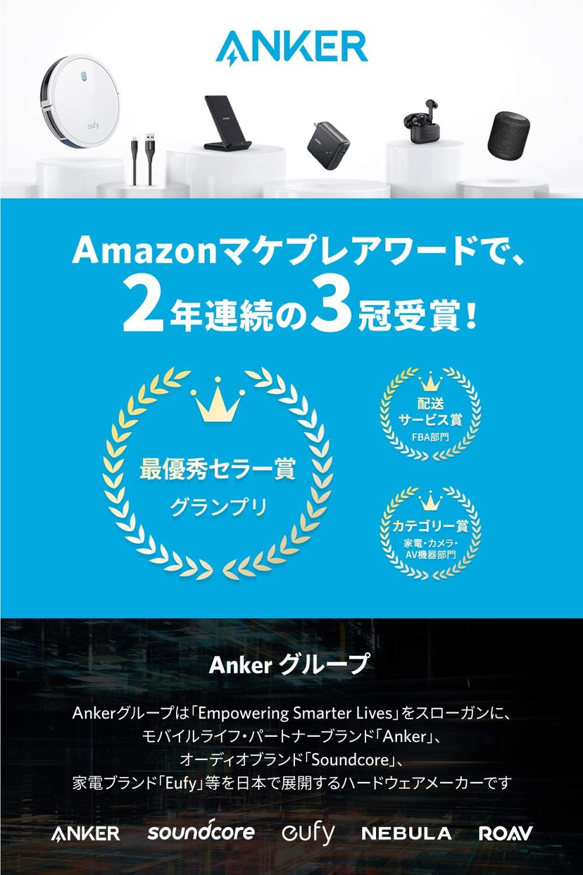 Anker(アンカー) PowerCore Play 6700 A1254011の商品画像2