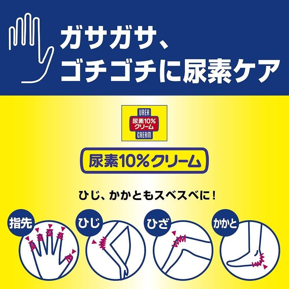 ハンド・尿素シリーズ(-)尿素10%クリーム (チューブ)の商品画像3