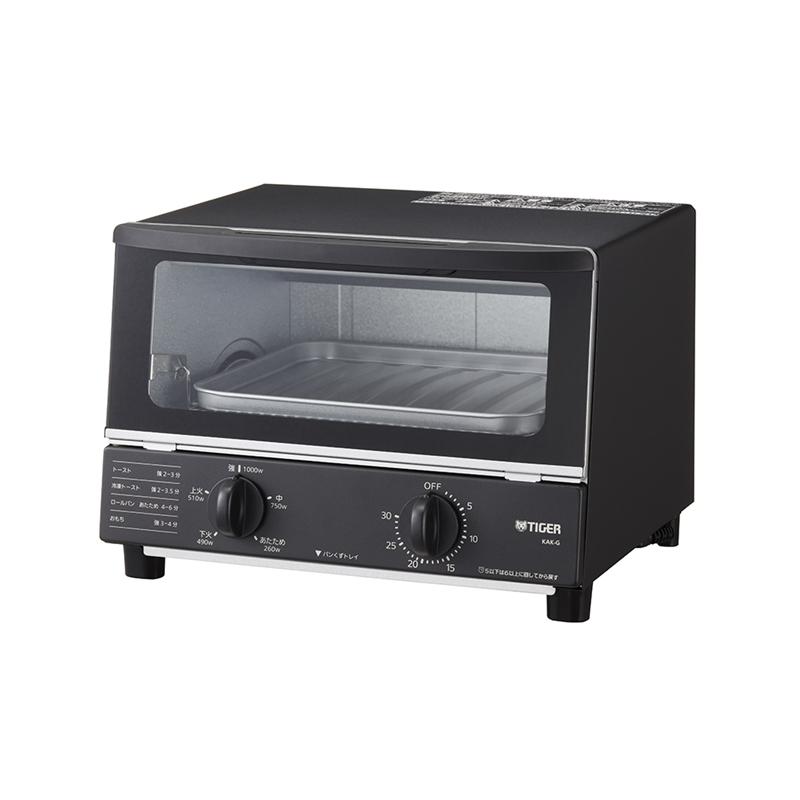 TIGER(タイガー)オーブントースター <やきたて> KAK-G100Kの商品画像