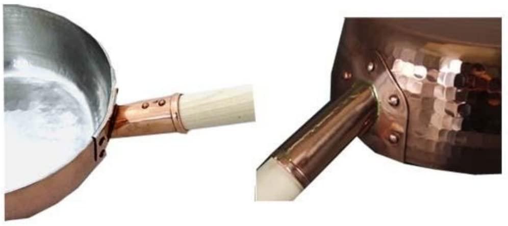 中村銅器製作所 銅製 行平鍋 18cm ゴールドの商品画像4
