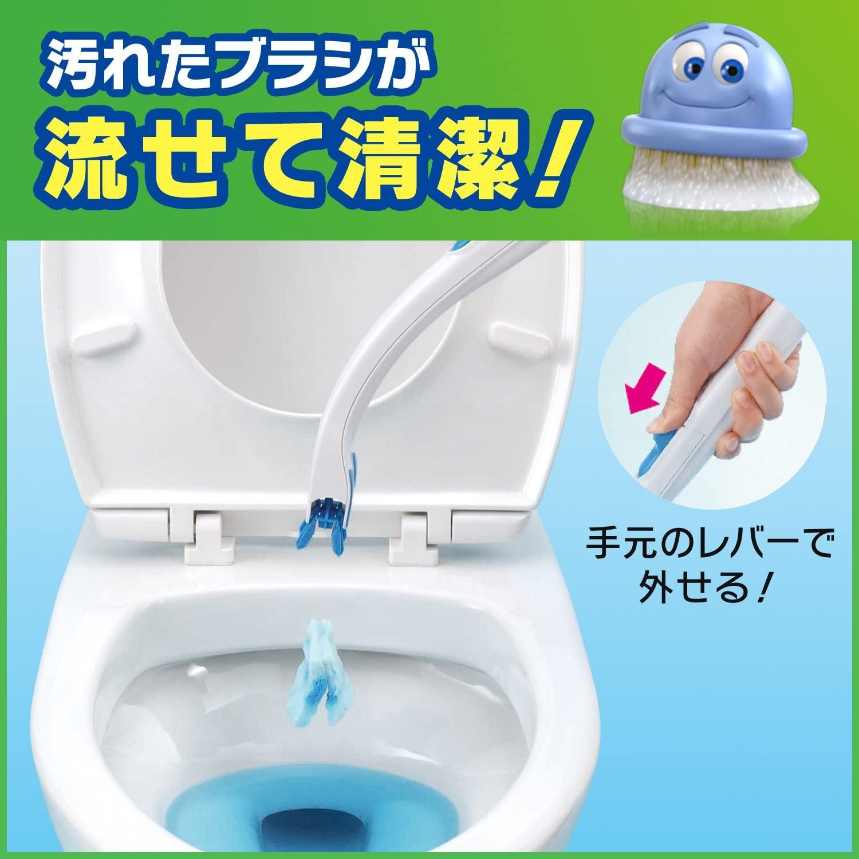 Scrubbing Bubbles(スクラビングバブル) 流せるトイレブラシの商品画像2