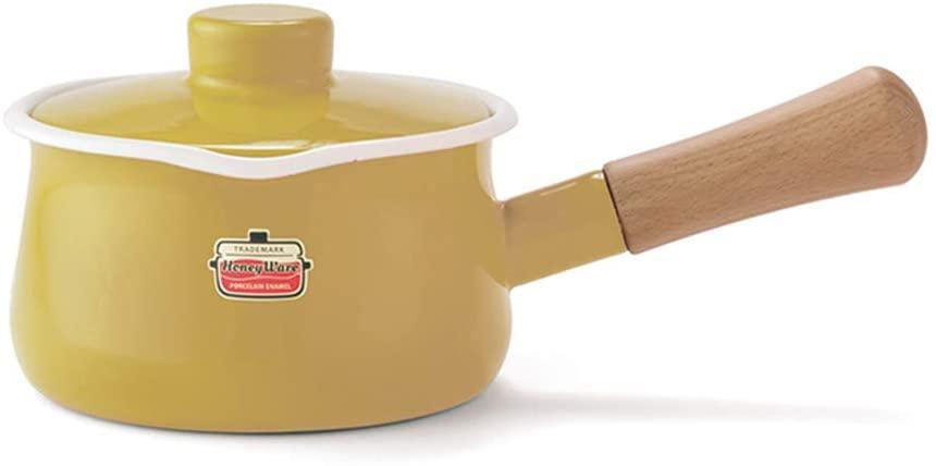 富士ホーロー(FUJIHORO) ソリッドシリーズ ミルクパン 15cm SD-15Mの商品画像