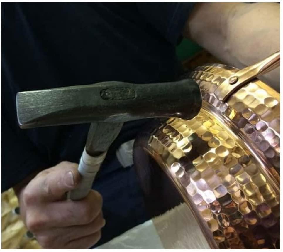 中村銅器製作所 銅製 行平鍋 18cm ゴールドの商品画像6