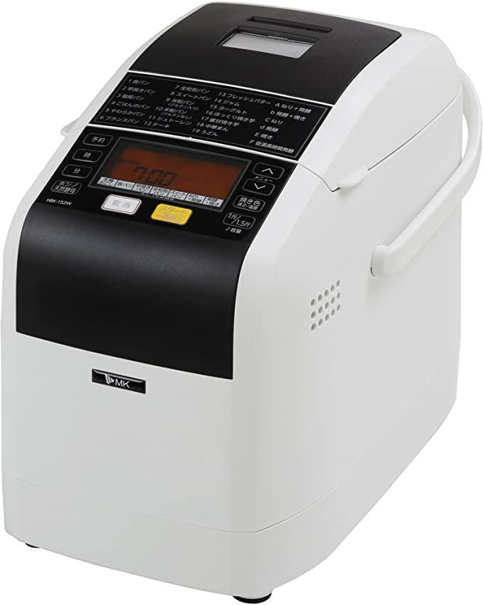 MK精工(エムケー精工)ふっくらパン屋さん (ホームベーカリー1.5斤タイプ) HBK-152の商品画像