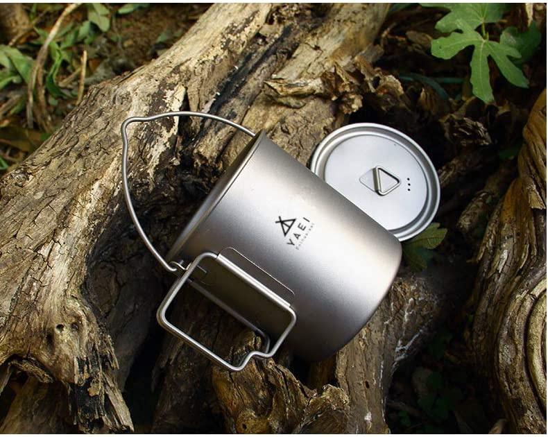 野営エンスージアスト(YAEI Enthusiast) チタン マグカップの商品画像5