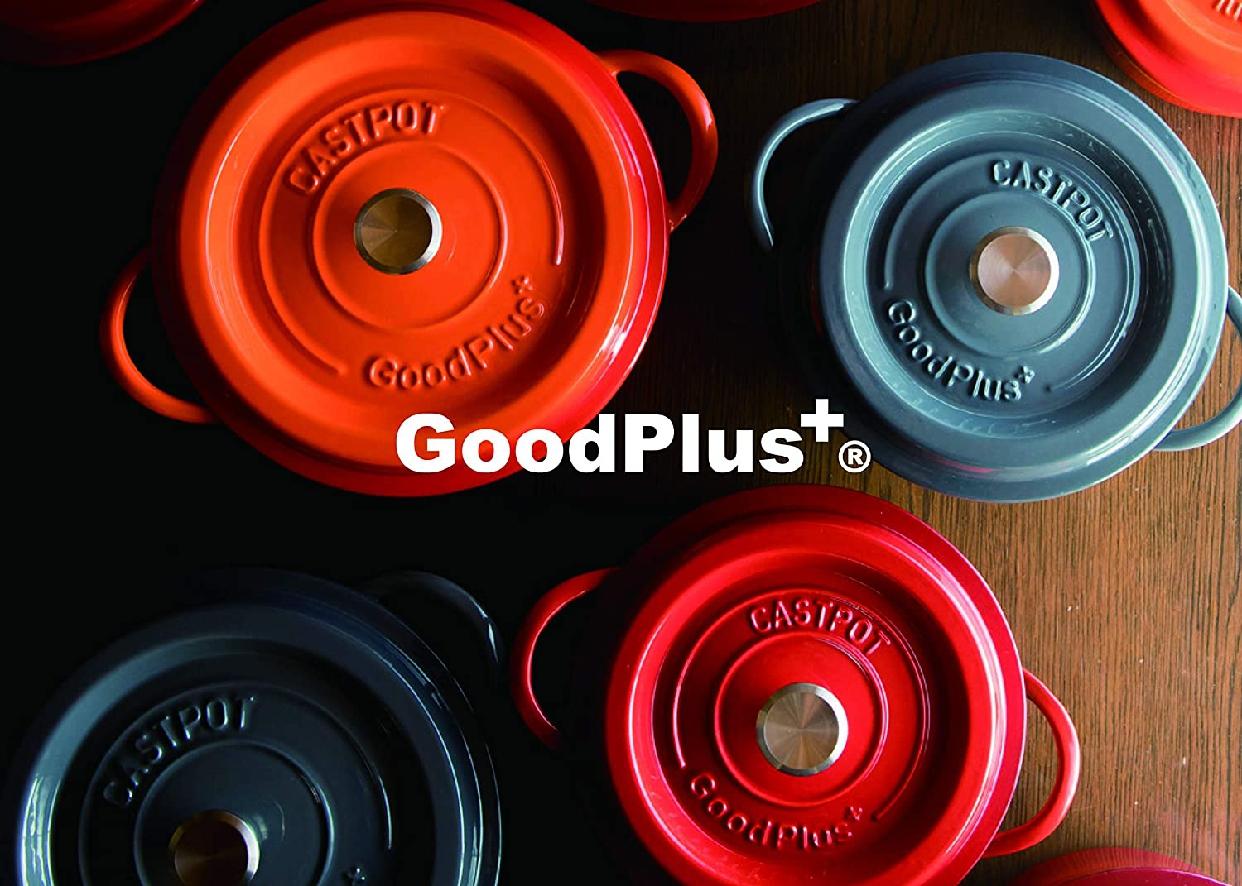 GoodPlus+(グッドプラス) キャストポット(鉄鋳物ホーロー鍋)の商品画像4