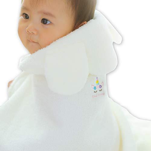 Baby arte(ベビーアルテ)天使の背まもり ベビーバスローブの商品画像