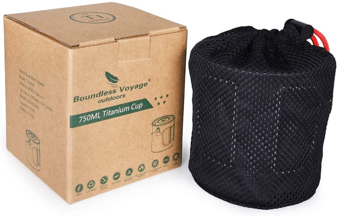 iBasingo(アイバシンゴ) チタンカップ+折り畳み割スプーンセットの商品画像9