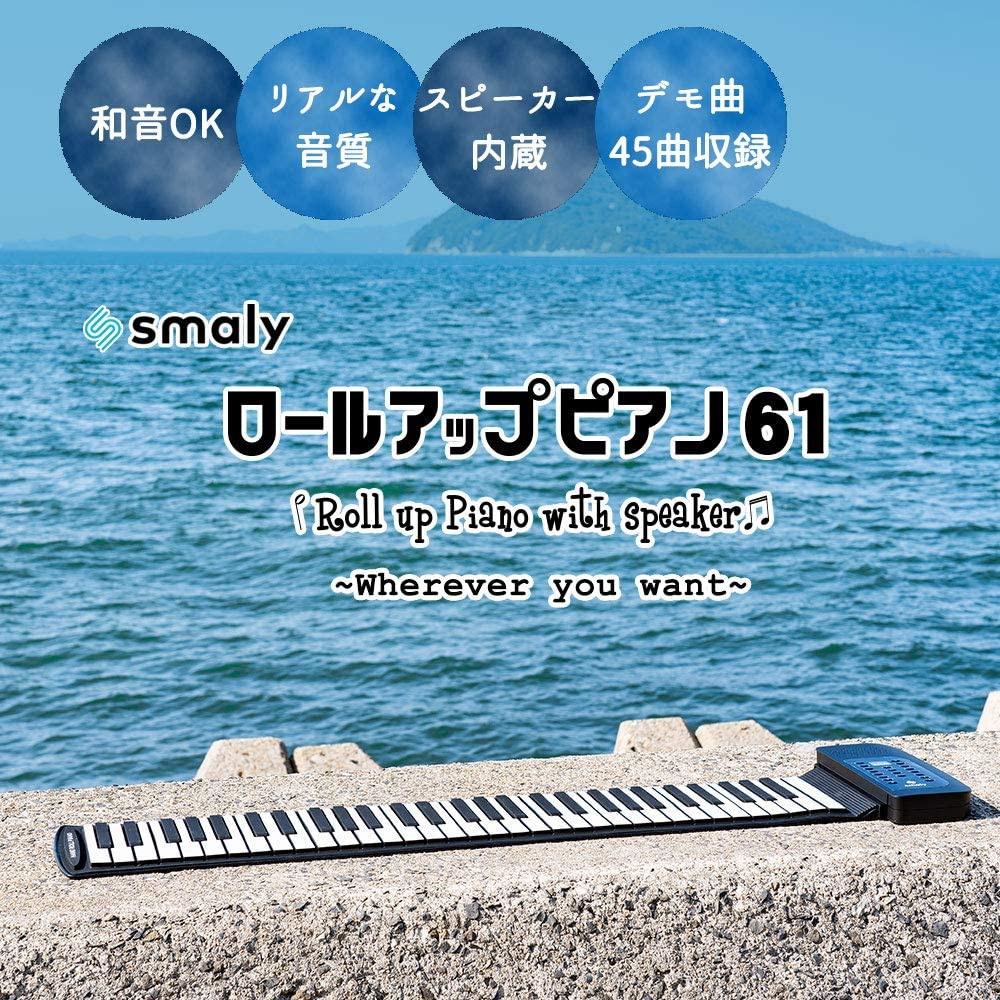 SMALY(スマリー) ロールアップピアノ 61鍵盤 SMALY-PIANO-61の商品画像5