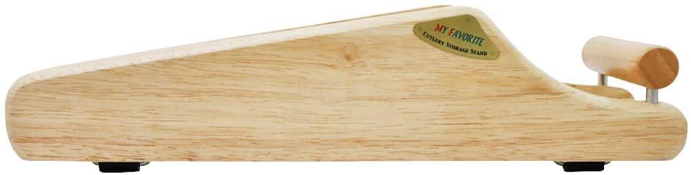 貝印(KAI) 包丁 スタンド MY FAVORITE 木製 ブラウン AP0520の商品画像3