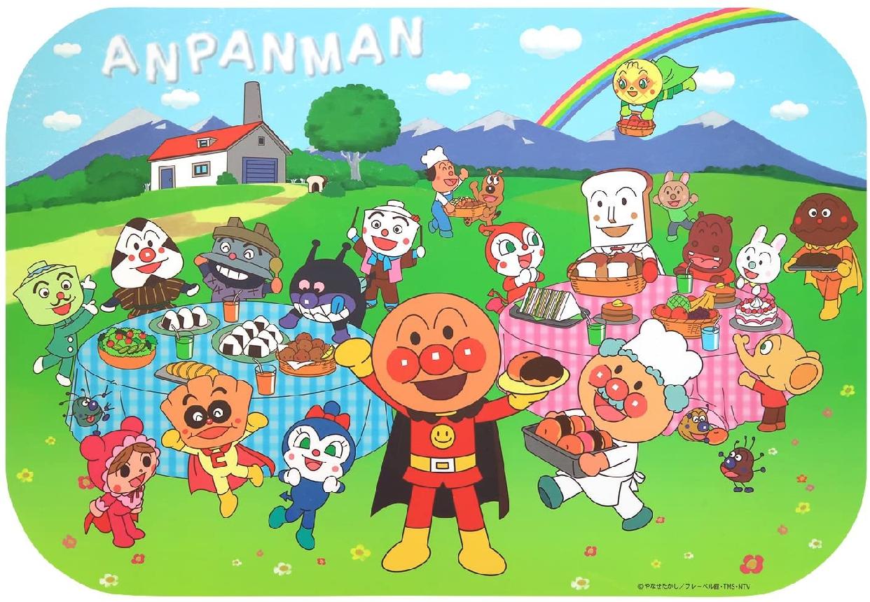 LEC(レック)アンパンマン ランチョンマット KK-259の商品画像