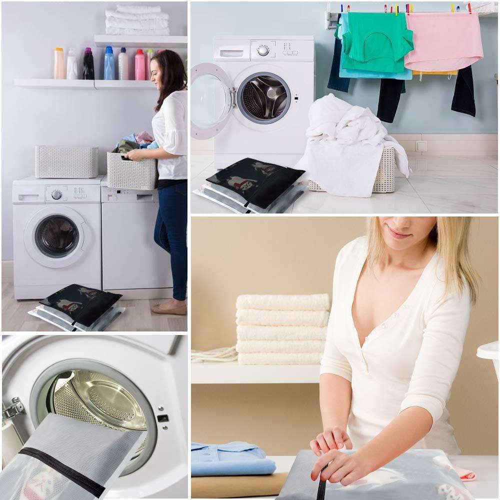 Miuphro(ミウフロ) ランドリーネット 洗濯袋セット 6枚入 洗濯ボール付きの商品画像7