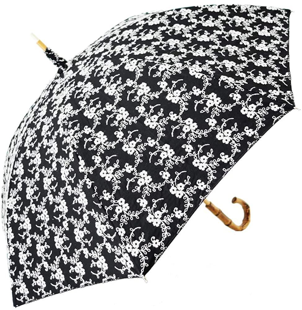 CLASSICO(クラシコ) 日傘 完全遮光 100% フラワー Cの商品画像