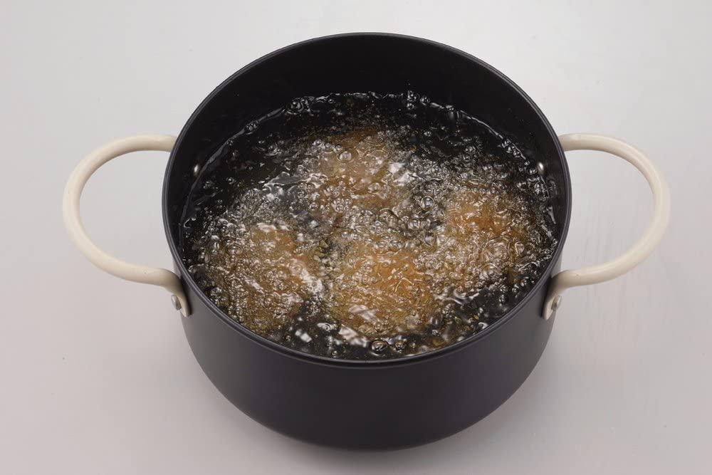 パール金属(パールキンゾク)オベ・フラ お弁当用鉄製両手フライ鍋セット16cm ブラック HB-285の商品画像4