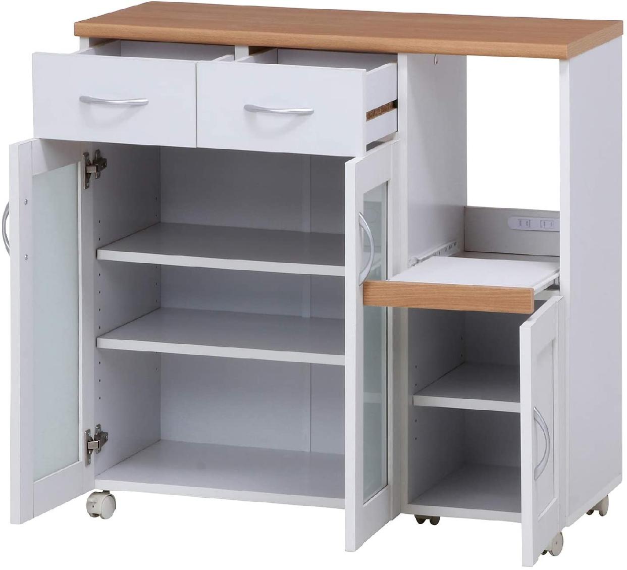 Sage(サージュ)キッチンカウンター 96819 幅90cmの商品画像3
