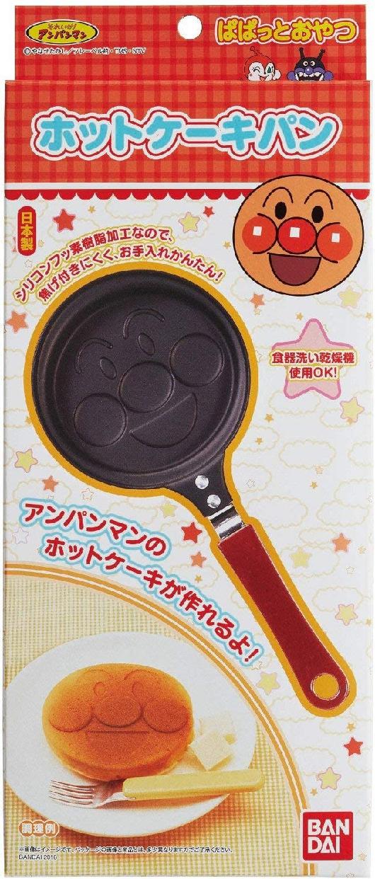 TORUNE(トルネ) アンパンマン ホットケーキパン(ステンシルシート付)の商品画像3
