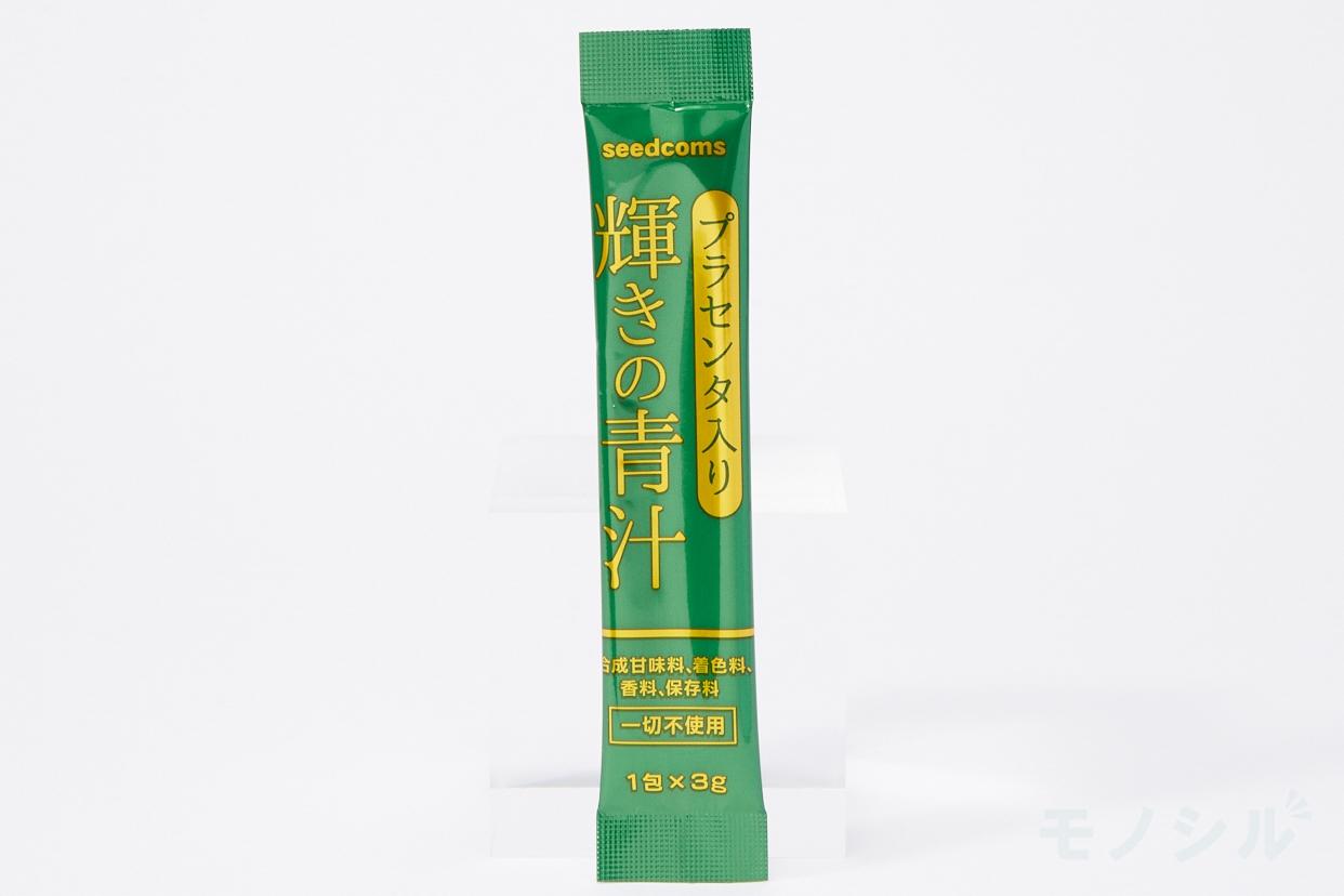 seedcoms(シードコムス) プラセンタ入り輝きの青汁の商品画像2 個包装のパッケージ