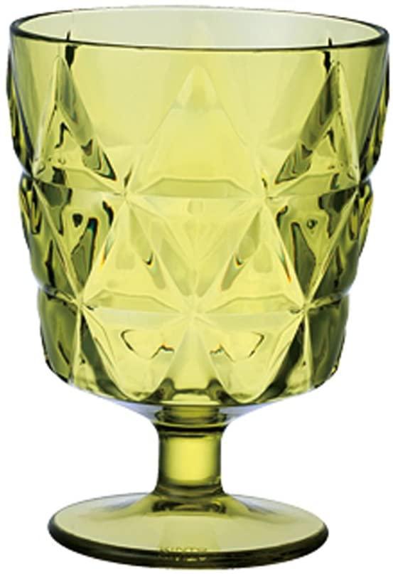 KINTO(キントー) TRIA ワイングラス 270ml イエローグリーン 23155の商品画像