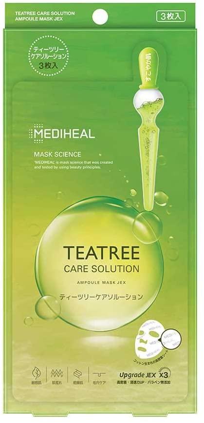 MEDIHEAL(メディヒール) ティーツリーケアソルーション シートマスク