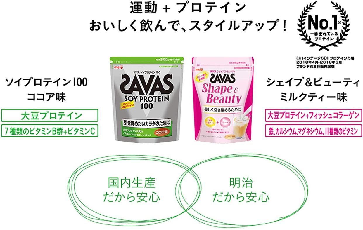 SAVAS(ザバス) シェイプ&ビューティの商品画像6