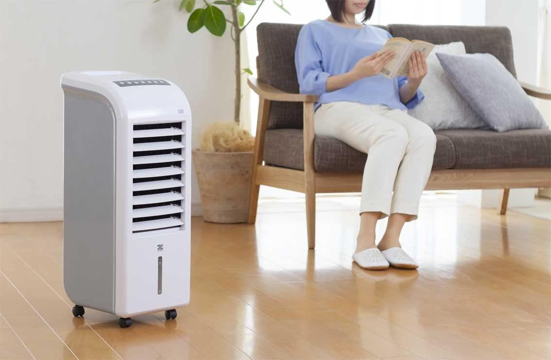ゼンケン スリム温冷風扇 ヒート&クール ZHC-1200の商品画像2