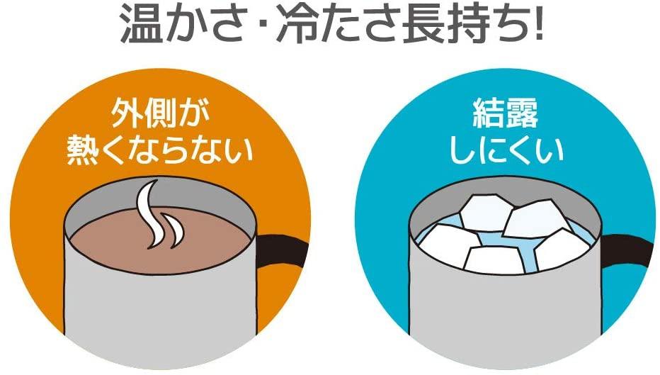 THERMOS(サーモス) 真空断熱マグカップ JDG-350の商品画像5