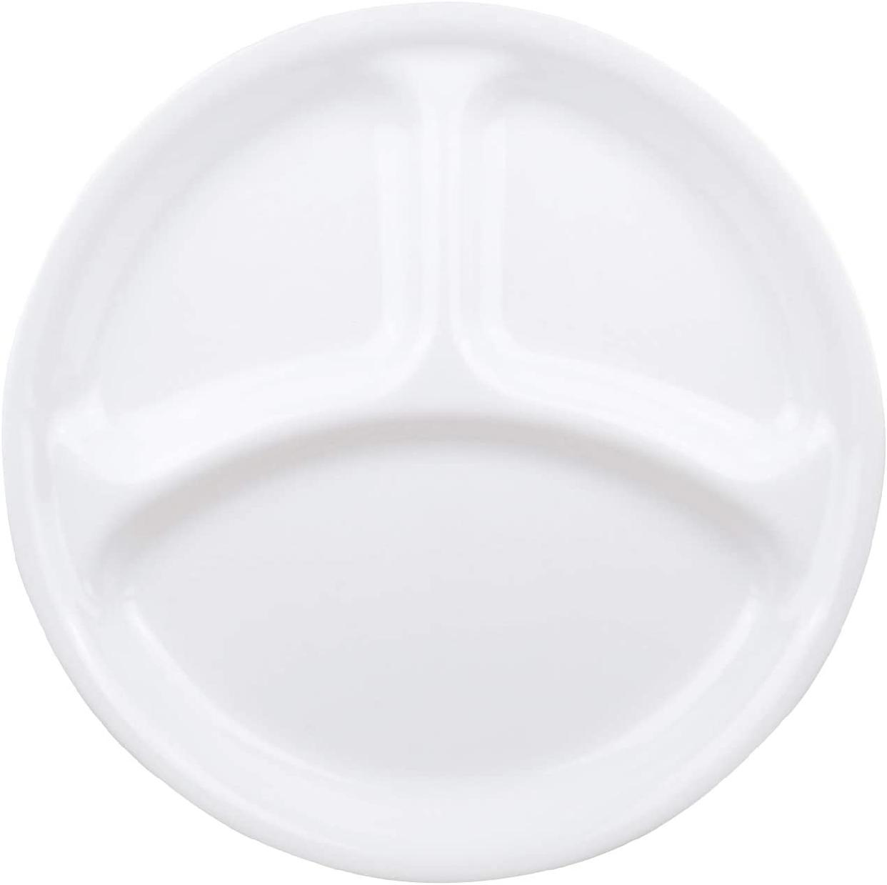 ウインターフロストホワイトランチ皿(大)ホワイト J310-Nの商品画像