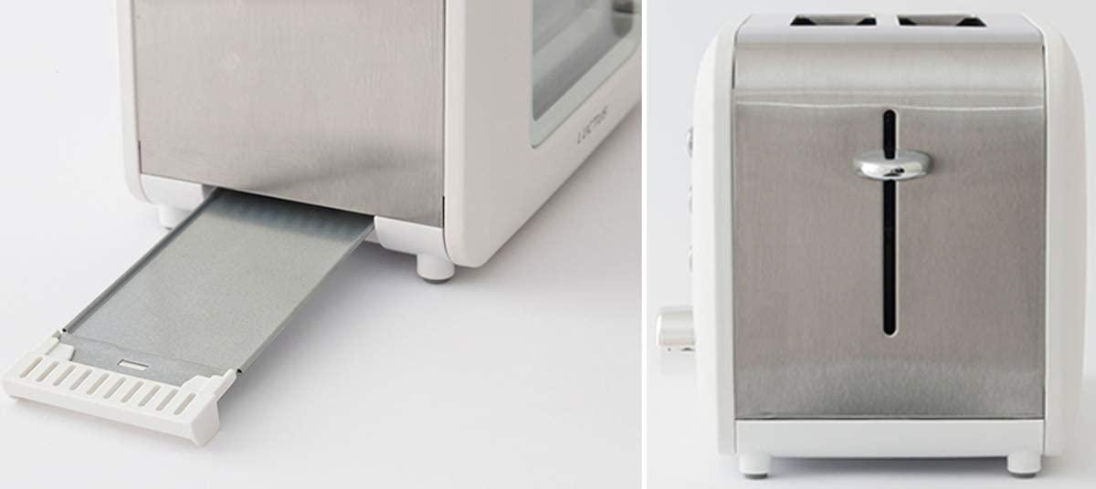 LUCTUS(ラクタス) 焼き目の見えるポップアップトーター ホワイト SE6100の商品画像4