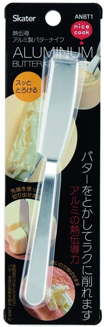 Skater(スケーター)シルバー アルミ製 バターナイフ/ANBT1_453434の商品画像2